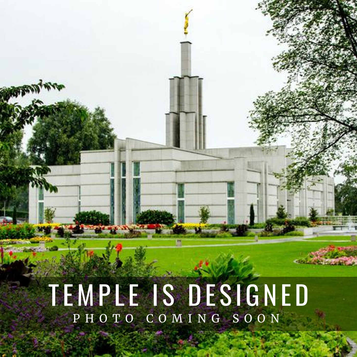 The Hague Netherlands Temple Christmas Ornament