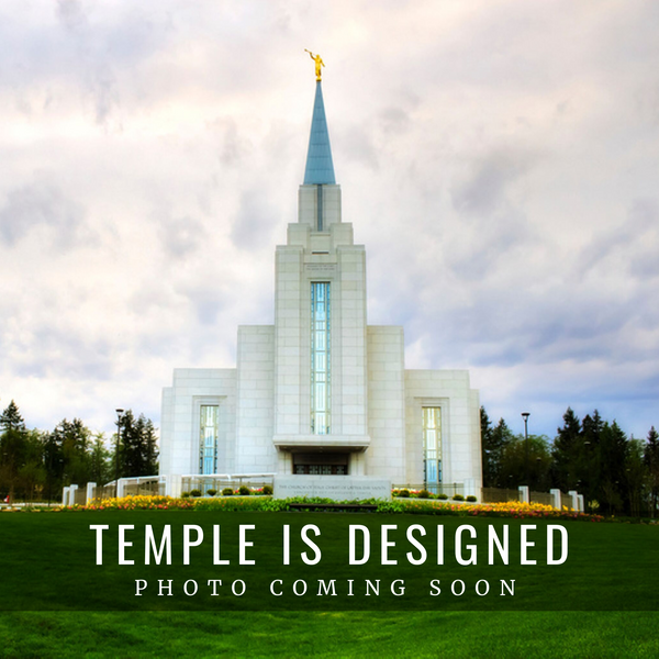 Vancouver British Columbia Temple Christmas Ornament