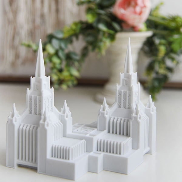 San Diego California Temple Replica Statue