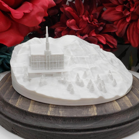 Seattle Washington Temple on Mount Rainier: Mountain of the Lord