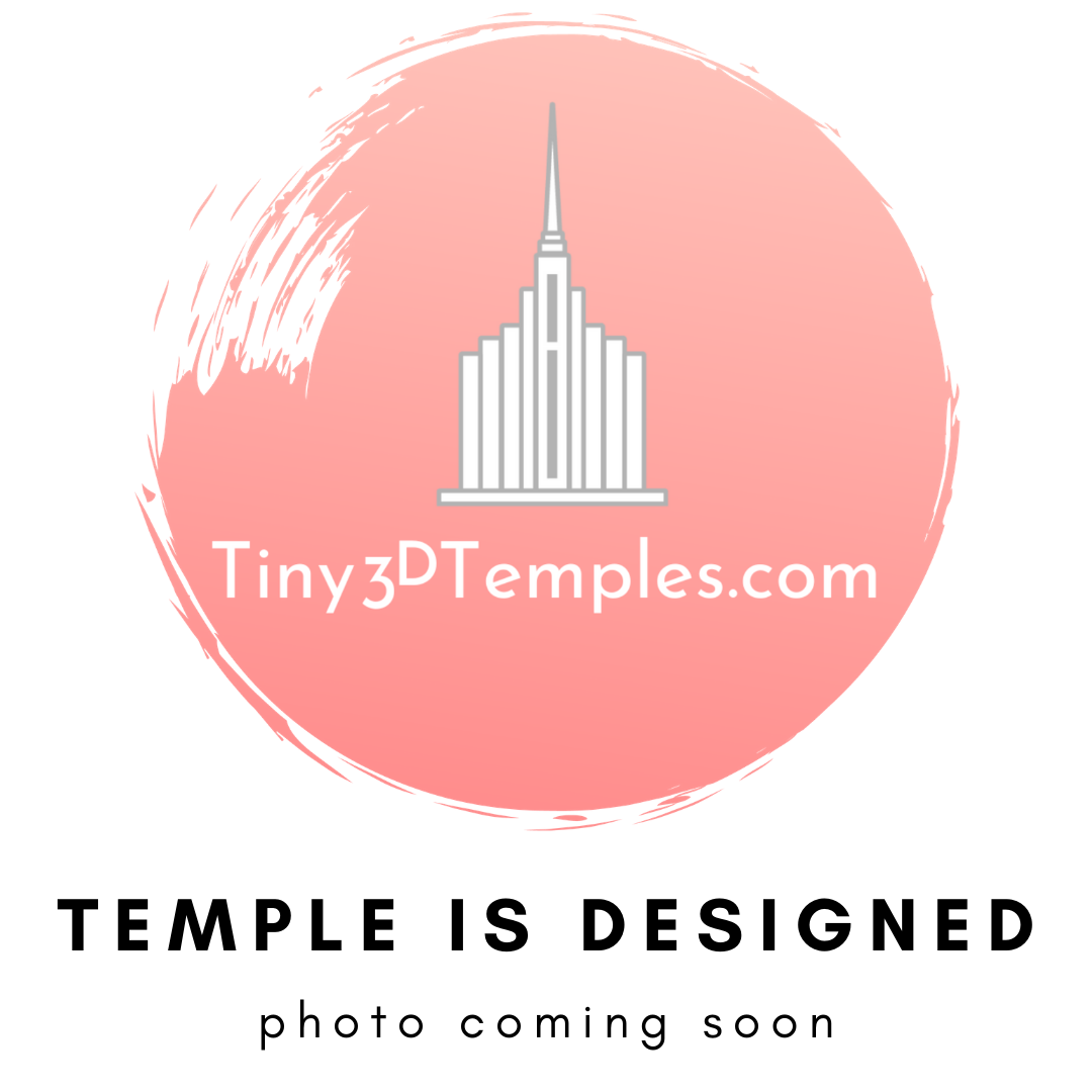 Accra Ghana Temple Magnet (on backorder until January 15th)
