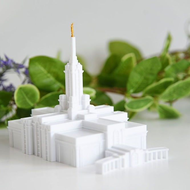 Mount Timpanogos Utah Temple Replica Statue (back ordered until January 15th)