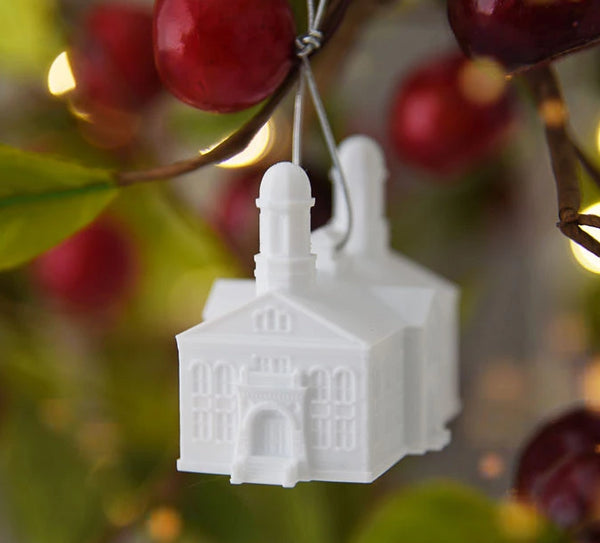 Vernal Utah Temple Christmas Ornament