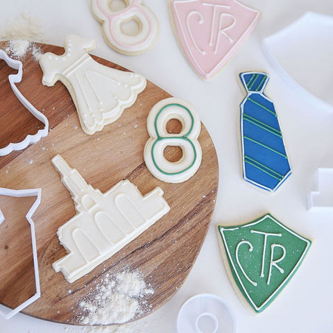 Baptism Cookie Cutter Set