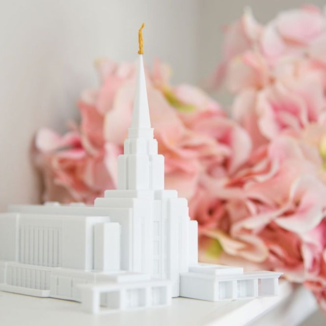 Oquirrh Mountain Utah Temple Replica Statue
