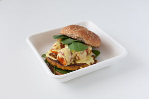 Veggie Red Lentil Burger