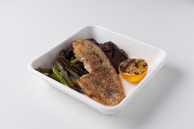 Whitefish Filet with Heirloom Ayocote Beans