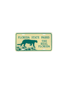 Florida State Parks Front License Plate