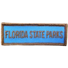 Florida State Parks Name Patch