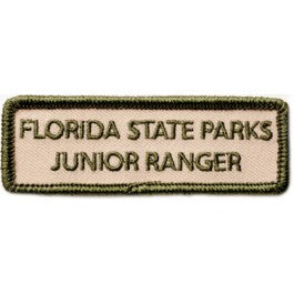 Junior Ranger Embroidered Name Patch