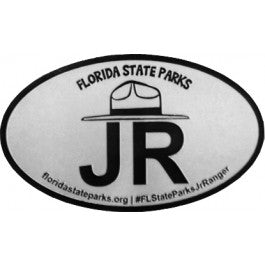 Junior Ranger Oval Magnet