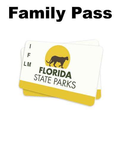 Florida State Parks Annual Pass (Family)