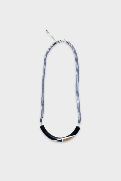 Splice Bar Short Necklace