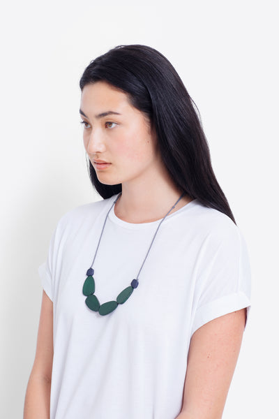 Eda Wooden Necklace