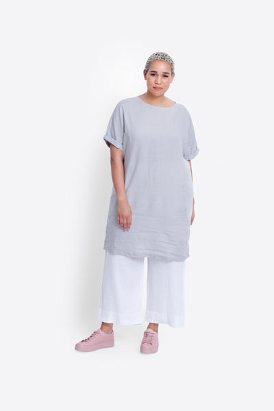 Linen Shift Dress