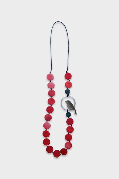 Bird In Loop Necklace