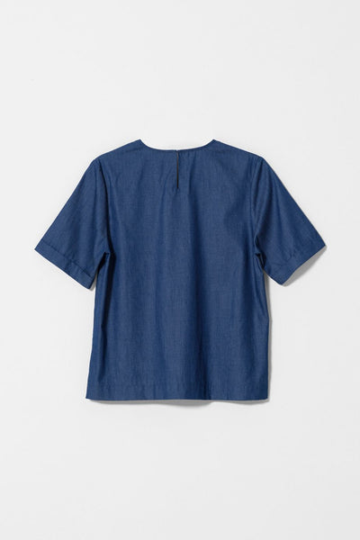 Vand Denim Box Top