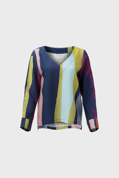 clea-long-sleeve-print-top-front