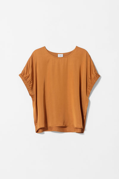 Lesja Boxy Top Front TAWNY GOLD