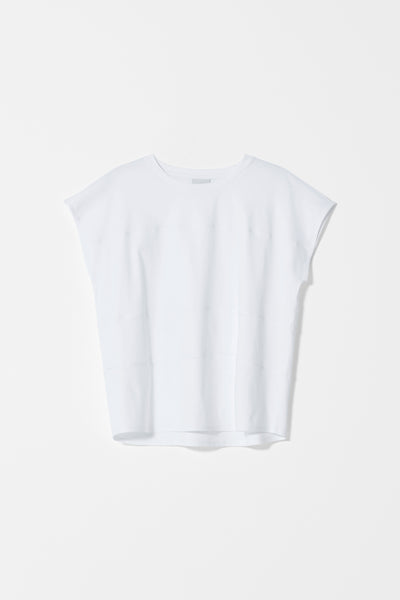 Netto Organic Cotton T-Shirt Front WHITE