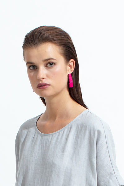 Poste Drop Earrings