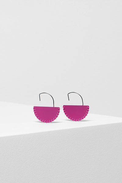 Axel Bold Half Moon Hook Earring BOYSENBERRY