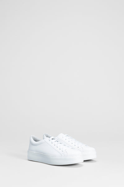 White Vikran Sneakers