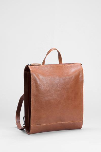Hanna-leather-backpack-tan-front