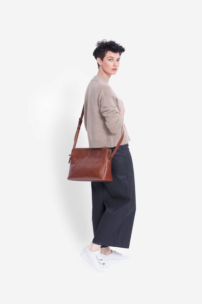 Dammei Leather Bag Model TAN