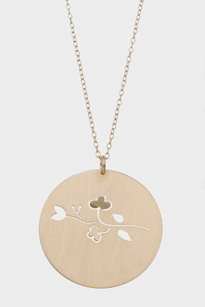 Large Cherry Blossom Necklace
