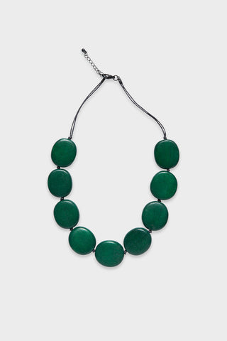 Flat Disc Necklace