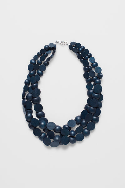 Meta Necklace NAVY