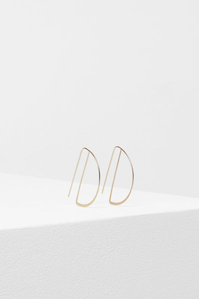 Arc Metal Earrings
