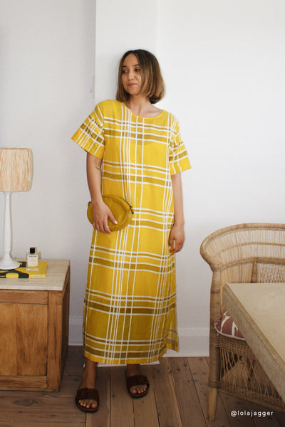 Shop the Look Janeke Plaid Dress Lola Jagger | MAIZE PLAID
