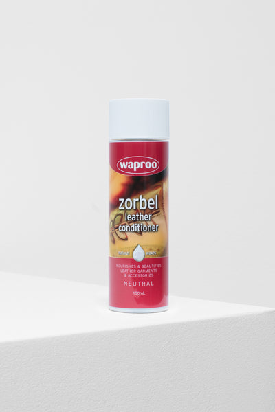Zorbel Leather Conditioner Front