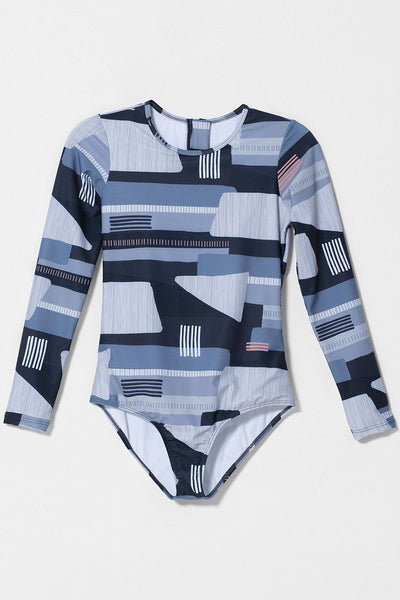 Northern Sleeved Swimsuit