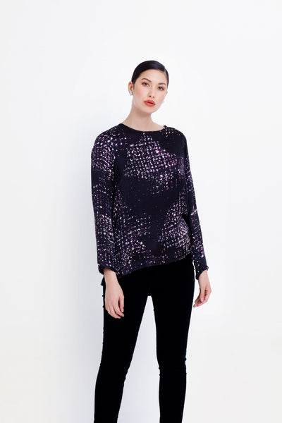 Satellite Print Top