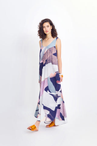 Dapple Print Dress