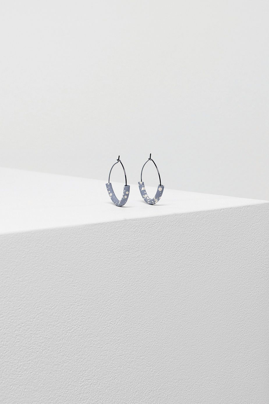 Speckle Hoop Earrings