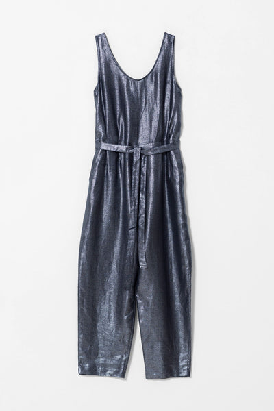 Metallic Linen Jumpsuit