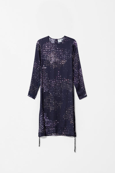 Satellite Print Dress