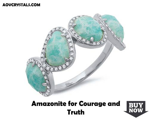 Amazonite for Courage and Truth