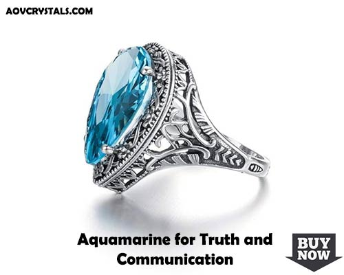 Aquamarine for Truth and Communication