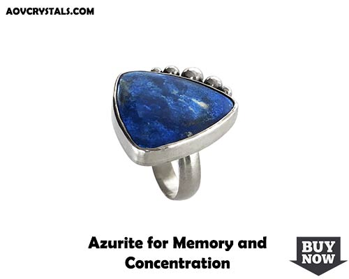 Azurite for Memory and Concentration