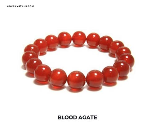 Blood Agate Gemstone