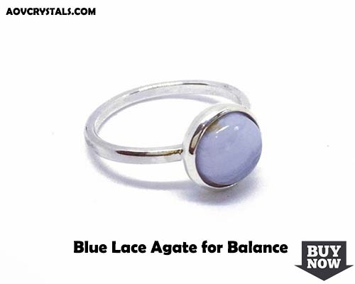 Blue Lace Agate for Balance