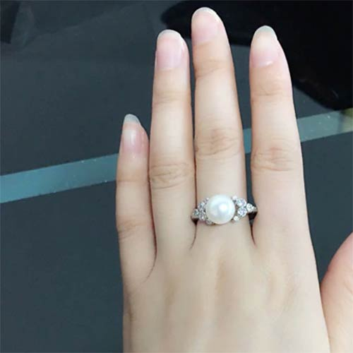Bohemian Natural Freshwater Pearl Ring
