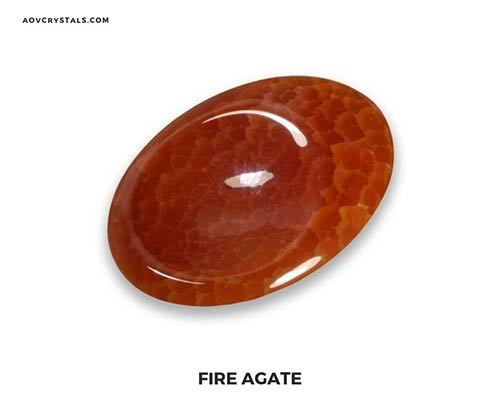 Fire Agate Gemstone