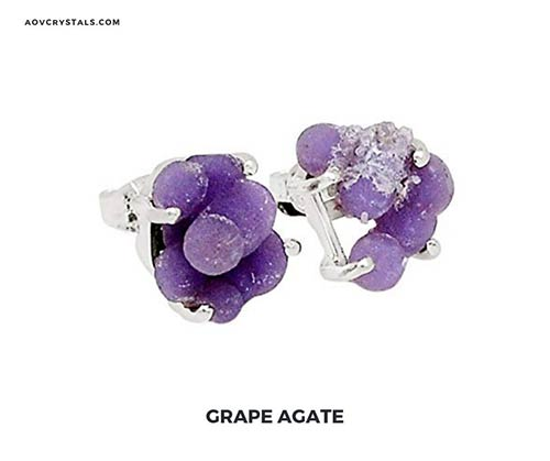 Grape Agate Gemstone