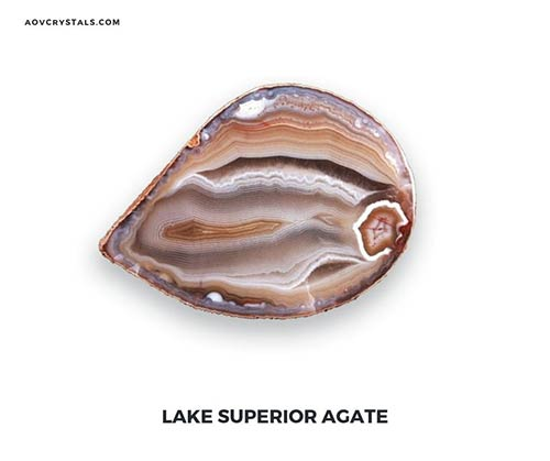 Lake Superior Agate Gemstone